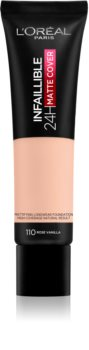 L'Oréal Paris Infallible 24H Matte Cover fond de teint matifiant longue tenue