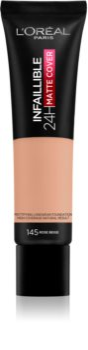 L'Oréal Paris Infallible 24H Matte Cover fondotinta opacizzante lunga tenuta