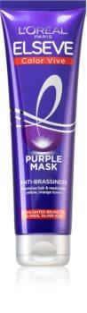 L'Oréal Paris Elseve Color-Vive Purple hranjiva maska za plavu i kosu s pramenovima