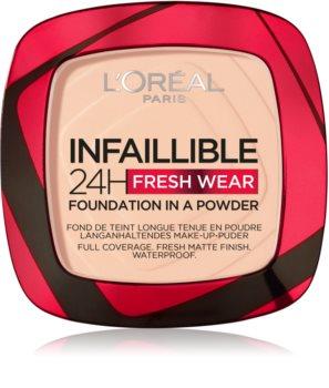 L'Oréal Paris Infaillible Fresh Wear 24h Puder-Foundation