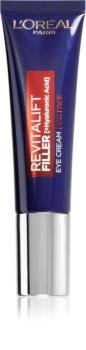 L'Oréal Paris Revitalift Filler Feuchtigkeitscreme für Gesicht und Augen
