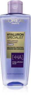 L'Oréal Paris Hyaluron Specialist изглаждащ тоник с хиалуронова киселина