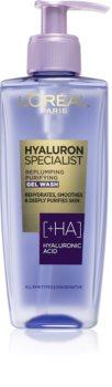 L'Oréal Paris Hyaluron Specialist почистващ гел  с хиалуронова киселина