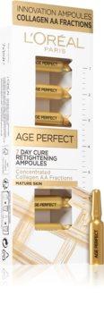L'Oréal Paris Age Perfect óleo facial em ampolas - 7 dias de tratamento de suavização