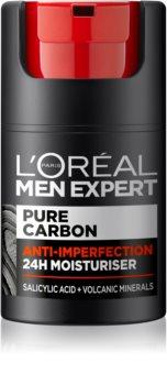 L'Oréal Paris Men Expert Pure Carbon дневен хидратиращ крем  против несъвършенства на кожата