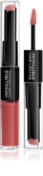 L'Oréal Paris Infallible 24H brillant et rouge à lèvres longue tenue 2 en 1