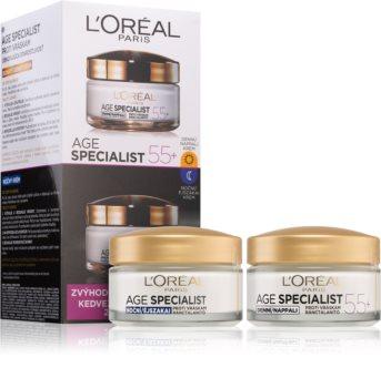 L'Oréal Paris Age Specialist 55+ zestaw kosmetyków I. dla kobiet