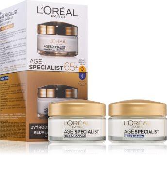 L'Oréal Paris Age Specialist 65+ kosmetická sada I. (proti vráskám) pro ženy