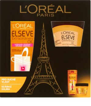 L'Oréal Paris Elseve Extraordinary Oil lote cosmético III.