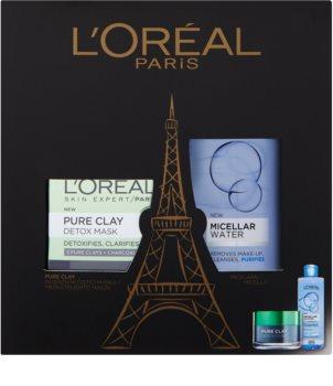 L'Oréal Paris Pure Clay kosmetická sada I. pro ženy