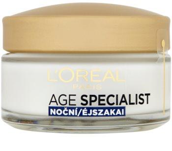 L'Oréal Paris Age Specialist 65+ crème de nuit nourrissante anti-rides