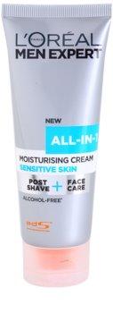 L'Oréal Paris Men Expert All-in-1 creme hidratante para pele sensível