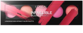 L'Oréal Paris Infaillible Blush Paint paleta de coloretes