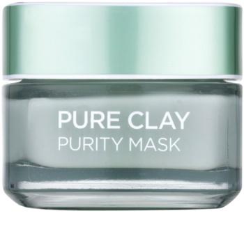 L'Oréal Paris Pure Clay Cleansing Mattifying Mask