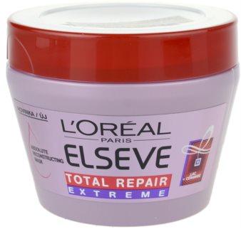 L'Oréal Paris Elseve Total Repair Extreme máscara renovadora para cabelo seco a danificado