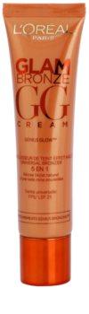 L'Oréal Paris Glam Bronze GG Cream crema facial bronceadora  5 en 1