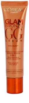 L'Oréal Paris Glam Bronze GG Cream creme facial bronzeador  5 em 1