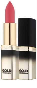 L'Oréal Paris Color Riche Gold Obsession barra de labios con oro de 24 quilates