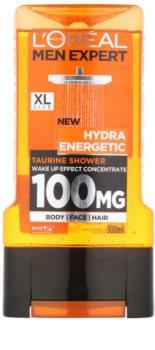 L'Oréal Paris Men Expert Hydra Energetic gel de duș stimulator