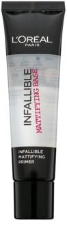 L'Oréal Paris Infallible Infaillible base de teint matifiante