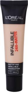 L'Oréal Paris Infallible mattító make-up