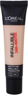 L'Oréal Paris Infallible maquillaje matificante