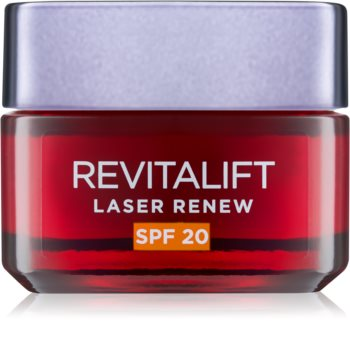 L'Oréal Paris Revitalift Laser Renew dnevna krema proti gubam SPF 20