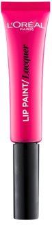 L'Oréal Paris Lip Paint rouge à lèvres liquide