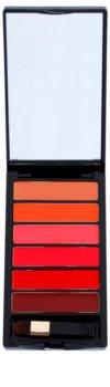 L'Oréal Paris Color Riche La Palette Glam paleta szminek z lusterkiem i aplikatorem