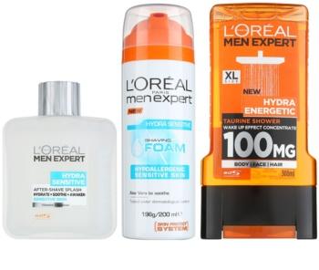 L'Oréal Paris Men Expert Hydra Sensitive lote cosmético II.