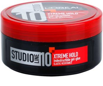 L'Oréal Paris Studio Line Indestructible gel de cabelo fixação forte