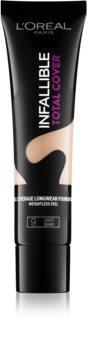 L'Oréal Paris Infallible Total Cover fond de teint longue tenue effet mat