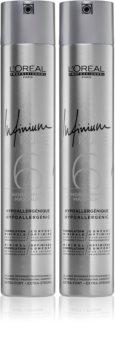 L'Oréal Professionnel Infinium Pure výhodné balení (pro fixaci a tvar)