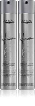L'Oréal Professionnel Infinium Pure изгодна опаковка (за фиксиране и оформяне)