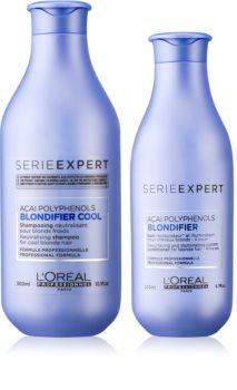L'Oréal Professionnel Serie Expert Blondifier vorteilhafte Packung I. (für blondes und meliertes Haar)