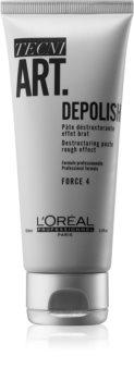 L'Oréal Professionnel Tecni.Art Depolish destrukturáló, matt hatású hajformázó krém-paszta