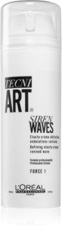 L'Oréal Professionnel Tecni.Art Siren Waves Krul definitie styling crème