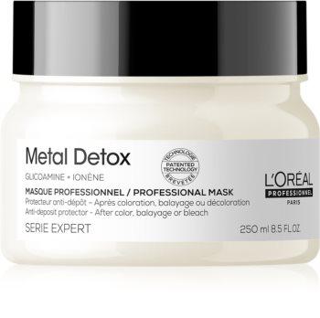 L'Oréal Professionnel Serie Expert Metal Detox hloubkově vyživující maska po barvení