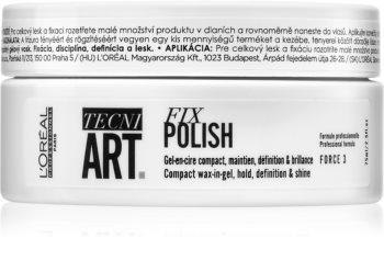 L'Oréal Professionnel Tecni.Art Fix Polish gelový vosk na vlasy
