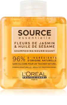 L'Oréal Professionnel Source Essentielle Fleurs de Jasmin & Huile de Sésame shampoing nourrissant pour cheveux secs et sensibilisés