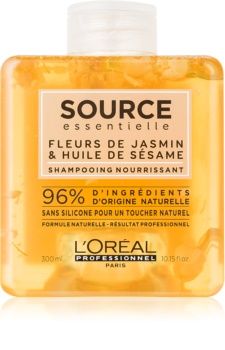 L'Oréal Professionnel Source Essentielle Jasmine Flowers & Sesame Oil vyživujúci šampón pre suché a citlivé vlasy