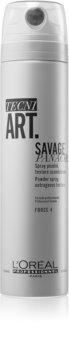 L'Oréal Professionnel Tecni.Art Savage Panache Πούδρα σε μορφή spray για φιξάρισμα και σχήμα