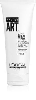 L'Oréal Professionnel Tecni.Art Fix Max gel cheveux fixation forte