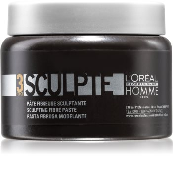 L'Oréal Professionnel Homme 3 Force Sculpte Modeling Paste Medium kontrol