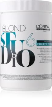 L'Oréal Professionnel Blond Studio Freehand Techniques 6 rozjaśniacz w proszku