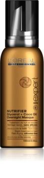 L'Oréal Professionnel Serie Expert Nutrifier noční péče ve formě pěny pro suché a poškozené vlasy