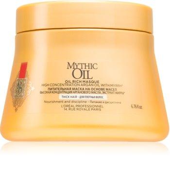 L'Oréal Professionnel Mythic Oil vyživujúca maska pre husté a nepoddajné vlasy