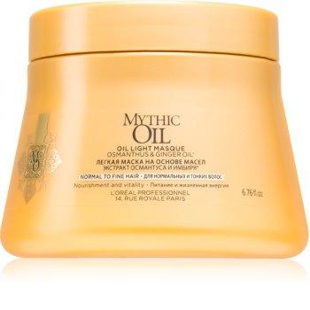 L'Oréal Professionnel Mythic Oil maschera in olio leggera per capelli normali e fini