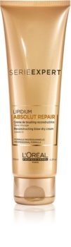 L'Oréal Professionnel Serie Expert Absolut Repair Lipidium zaščitna regeneracijska krema za toplotno oblikovanje las