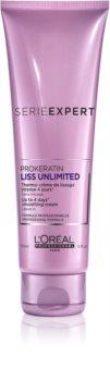 L'Oréal Professionnel Serie Expert Liss Unlimited creme termo-protetor para suavizar os cabelos rebeldes